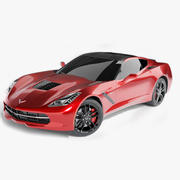 2014 C7 Chevrolet Corvette Stingray 3d model