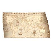 Old World Map 3d model