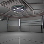 Sala Sci Fi 3d model
