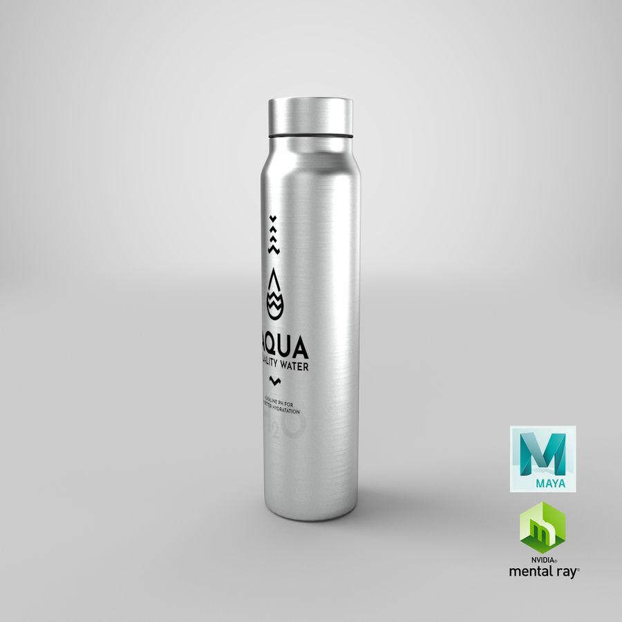 Aluminium Wasserflasche royalty-free 3d model - Preview no. 29
