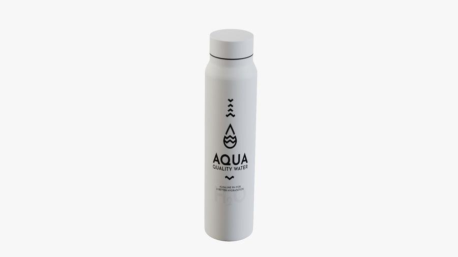 Aluminium Wasserflasche royalty-free 3d model - Preview no. 13