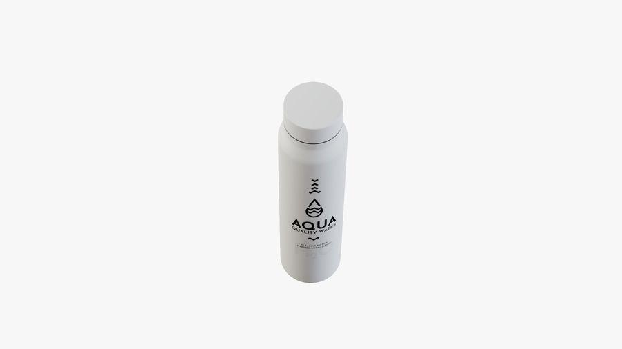 Aluminium Wasserflasche royalty-free 3d model - Preview no. 11