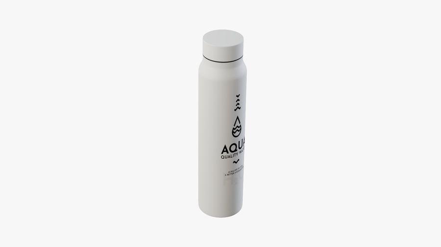 Aluminium Wasserflasche royalty-free 3d model - Preview no. 10