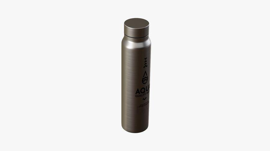 Aluminium Wasserflasche royalty-free 3d model - Preview no. 4