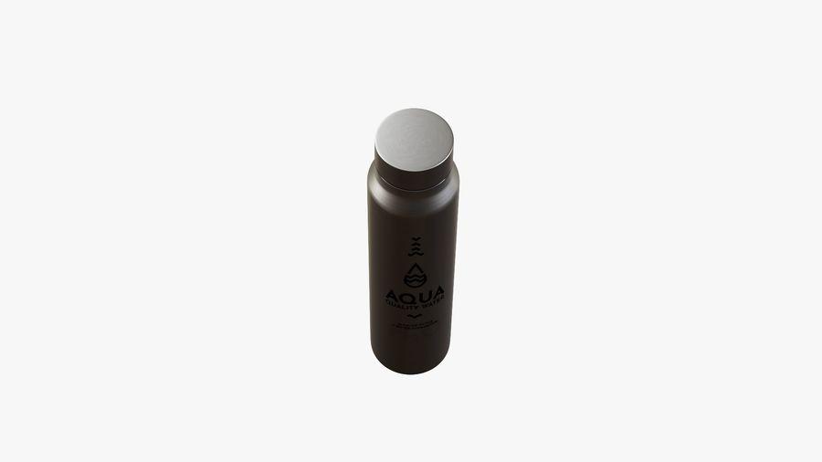 Aluminium Wasserflasche royalty-free 3d model - Preview no. 5