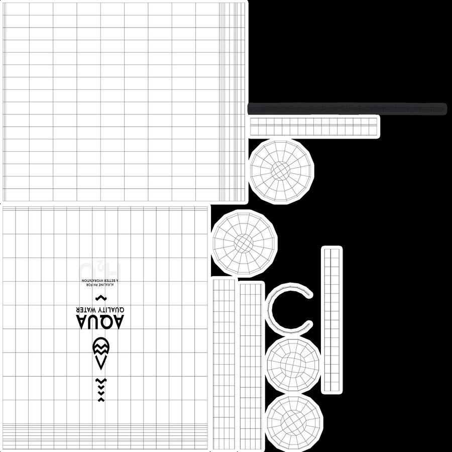 알루미늄 물병 royalty-free 3d model - Preview no. 20
