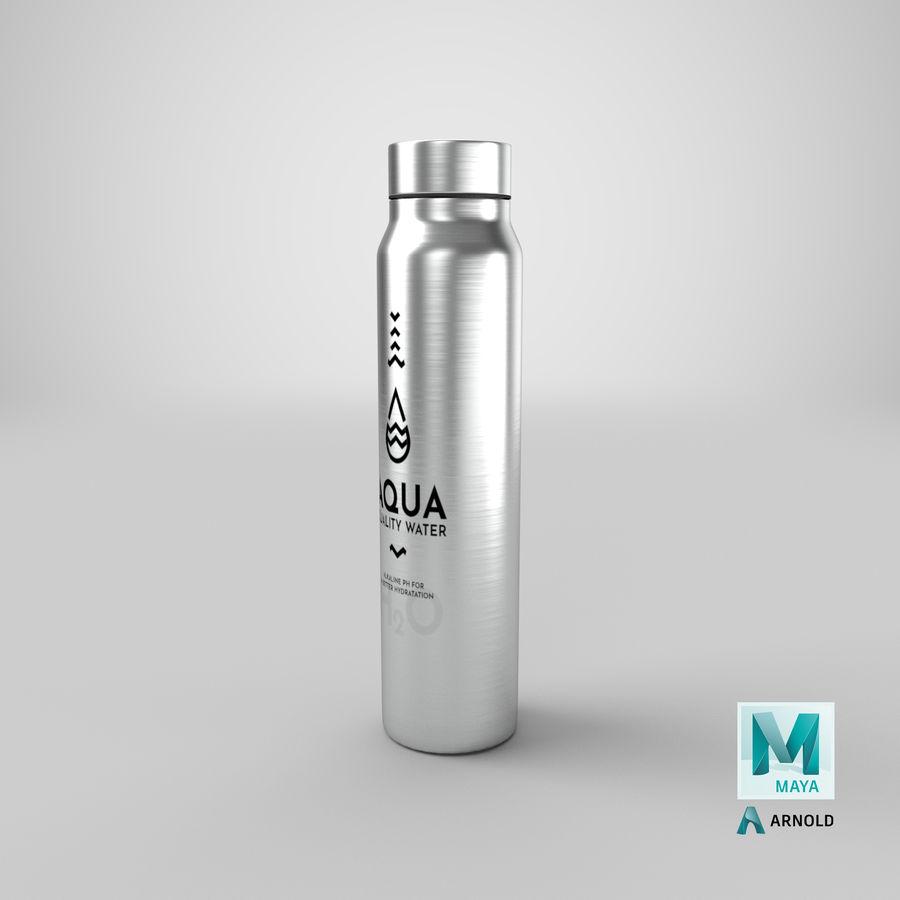 Aluminium Wasserflasche royalty-free 3d model - Preview no. 28