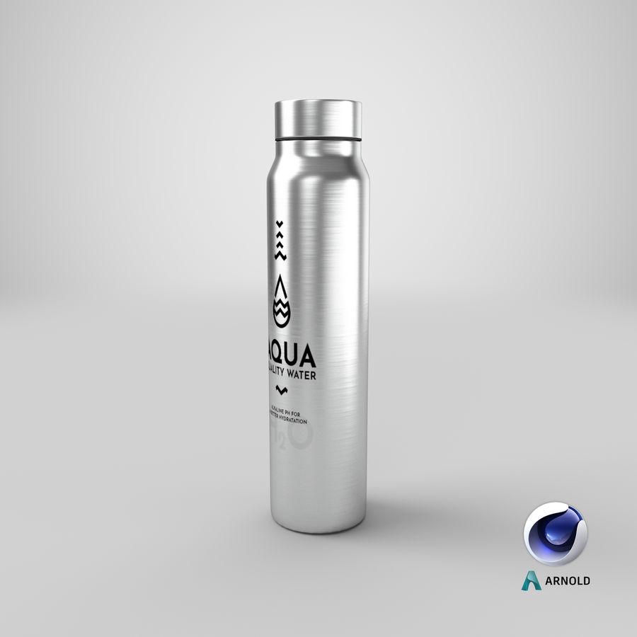 Aluminium Wasserflasche royalty-free 3d model - Preview no. 22