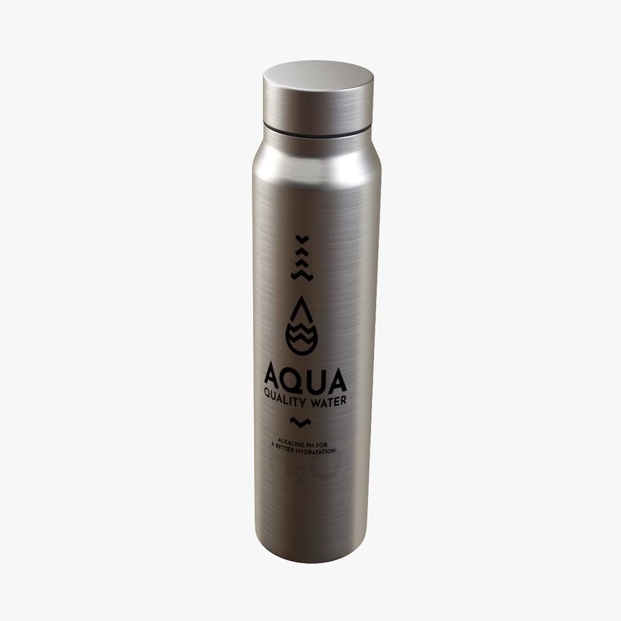 Aluminium Wasserflasche royalty-free 3d model - Preview no. 1