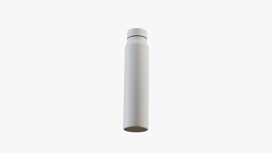 Aluminium Wasserflasche royalty-free 3d model - Preview no. 8