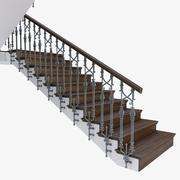 계단 위조 3d model