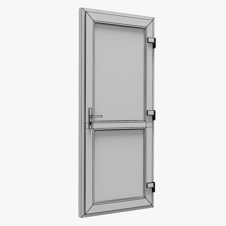 Porta royalty-free 3d model - Preview no. 9