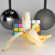 Peeled Banana 22 3d model