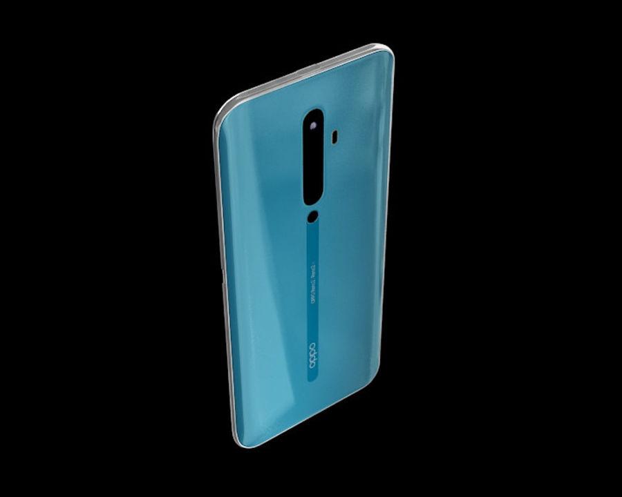 安卓手机 royalty-free 3d model - Preview no. 3