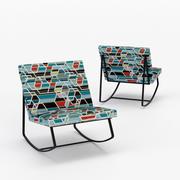 GT Rocking Chair 3d model