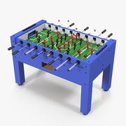 Настольный футбол настольный 3d model
