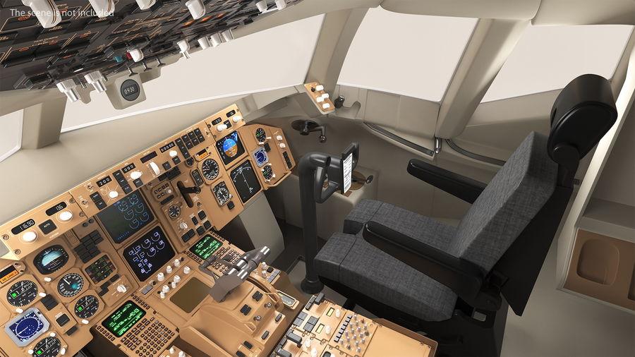 Pilot Seat royalty-free 3d model - Preview no. 2