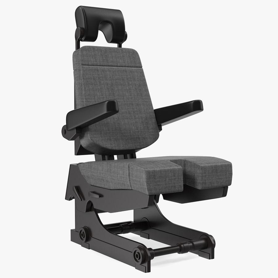 Pilot Seat royalty-free 3d model - Preview no. 1