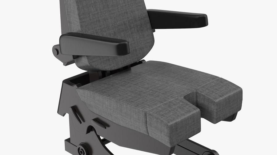 Pilot Seat royalty-free 3d model - Preview no. 7
