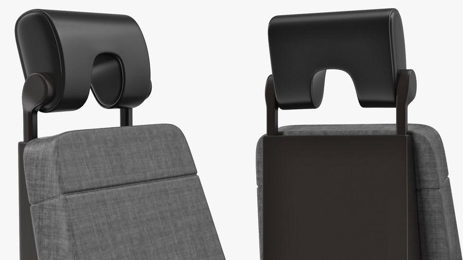 Pilot Seat royalty-free 3d model - Preview no. 8