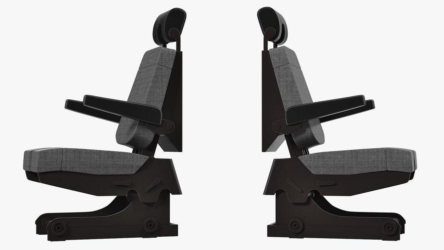 Pilot Seat royalty-free 3d model - Preview no. 5