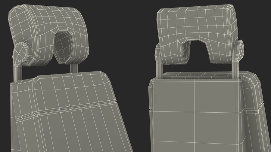 Pilot Seat royalty-free 3d model - Preview no. 22