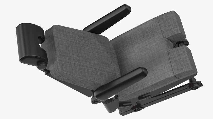 Pilot Seat royalty-free 3d model - Preview no. 11