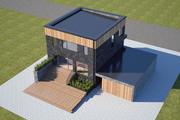 Modernes Haus 1 3d model