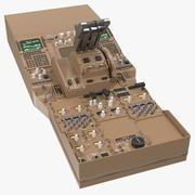 スロットルコントロールパネル 3d model