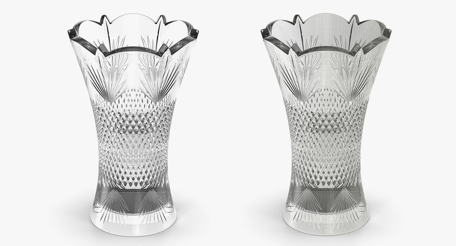 Vases Models Collection 4 royalty-free 3d model - Preview no. 16