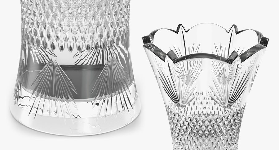 Vases Models Collection 4 royalty-free 3d model - Preview no. 18