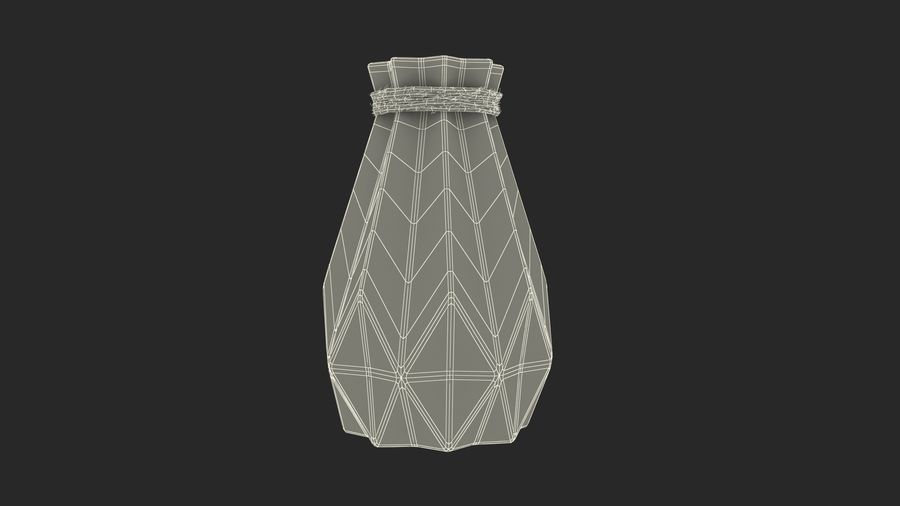 Vases Models Collection 4 royalty-free 3d model - Preview no. 21