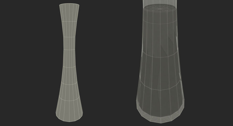 Vases Models Collection 4 royalty-free 3d model - Preview no. 25