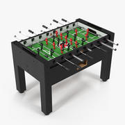 战士桌足球临桌上足球 3d model