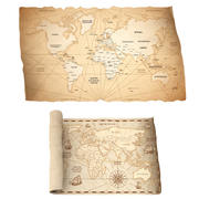 World Map Collection 3d model