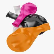 Flat Balloon 02 3d model