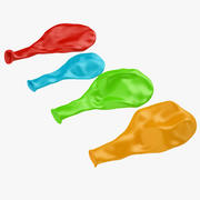 Flat Balloon 03 3d model