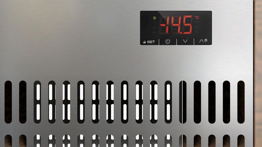 Saladbar Cold royalty-free 3d model - Preview no. 6