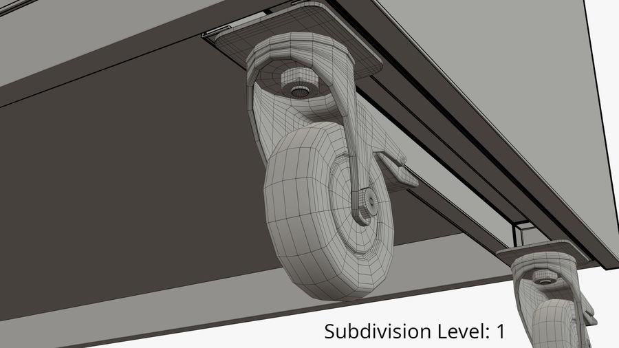 Saladbar Cold royalty-free 3d model - Preview no. 10