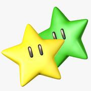 Super Mario Star 3d model