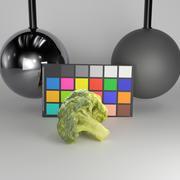 Montón de brócoli 28 modelo 3d