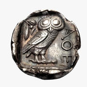 Tetradrachm Athens 454-404 BC 3d model