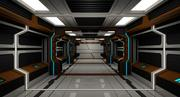Sci Fi Corridro modelo 3d