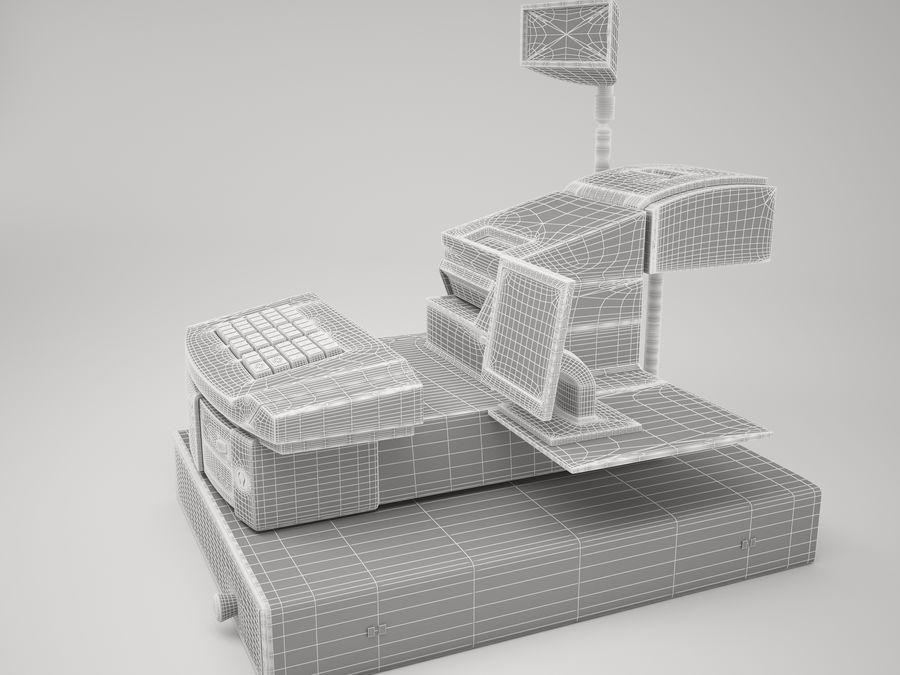 Cash Register royalty-free 3d model - Preview no. 6