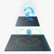 Hologram Collection 3d model