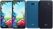 LG K40S Black & Blue 3d model