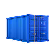 Cartoon Cargo Container 3d model