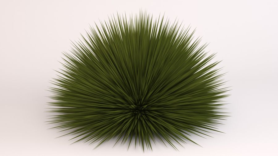 Deer Grass royalty-free 3d model - Preview no. 2