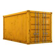 Cartoon Cargo Container 3d model