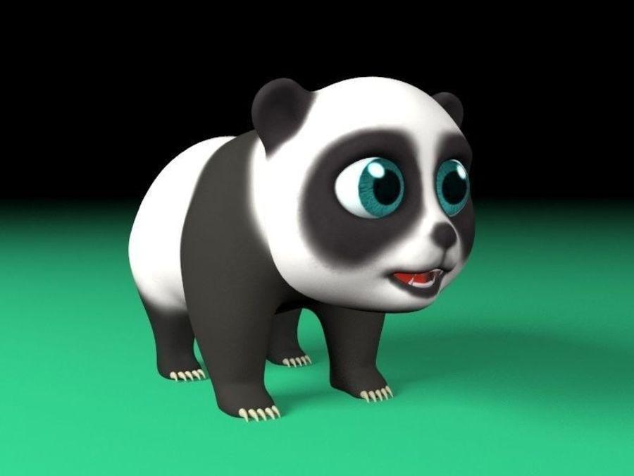 パンダ 3d